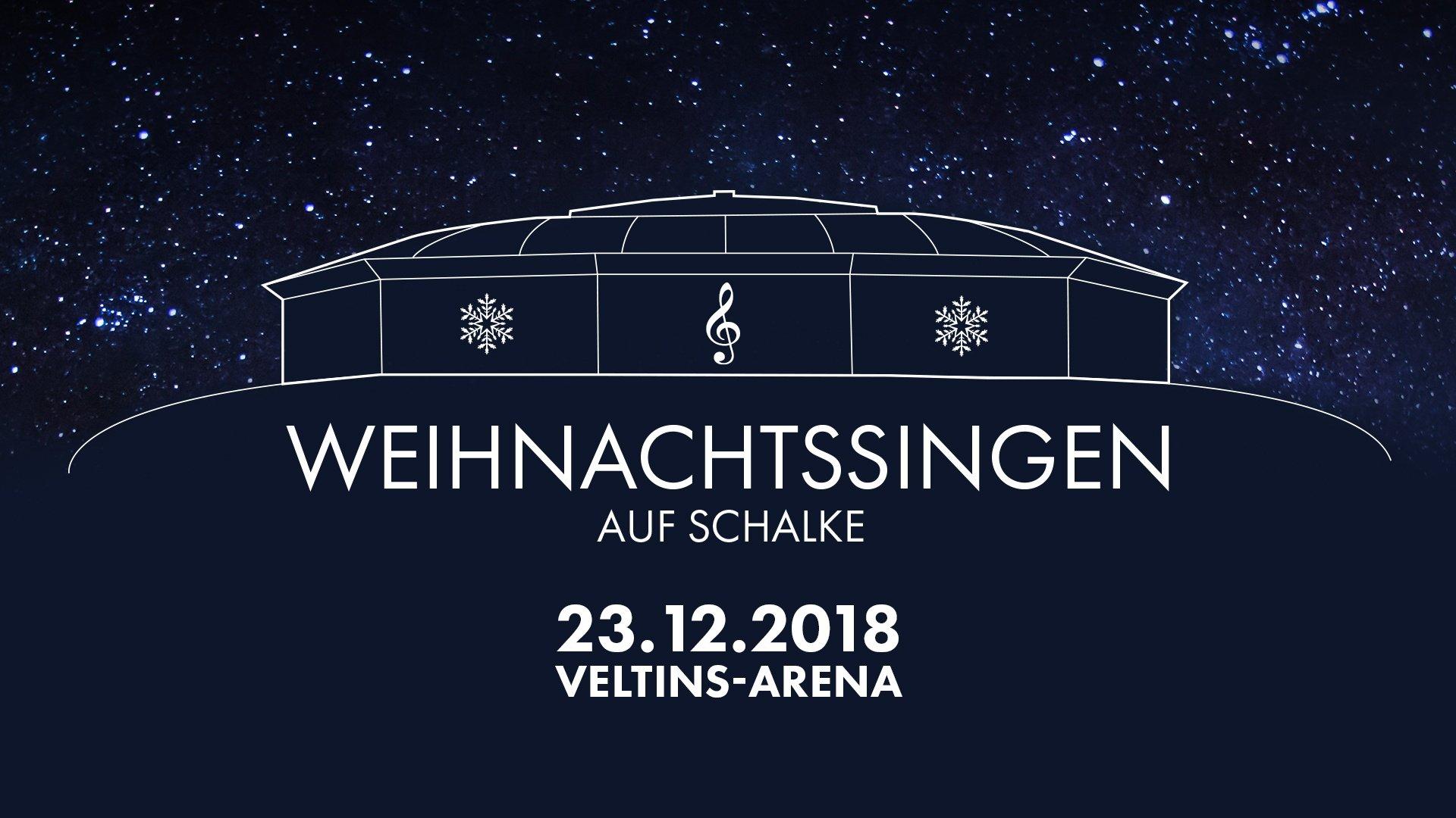 Weihnachtssingen Auf Schalke, 18. Dezember