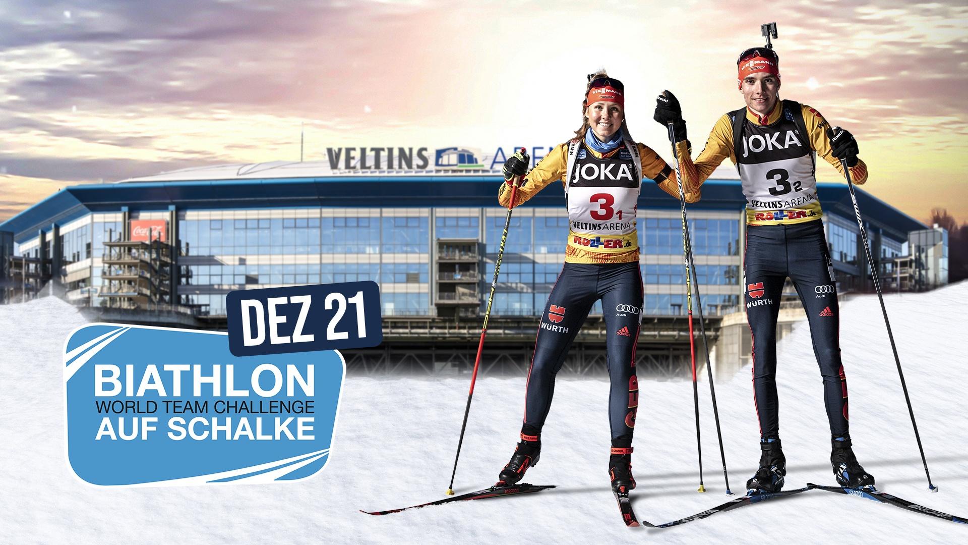 Biathlon Schalke Programmablauf 2021