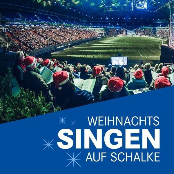 Weihnachtssingen auf Schalke 2019
