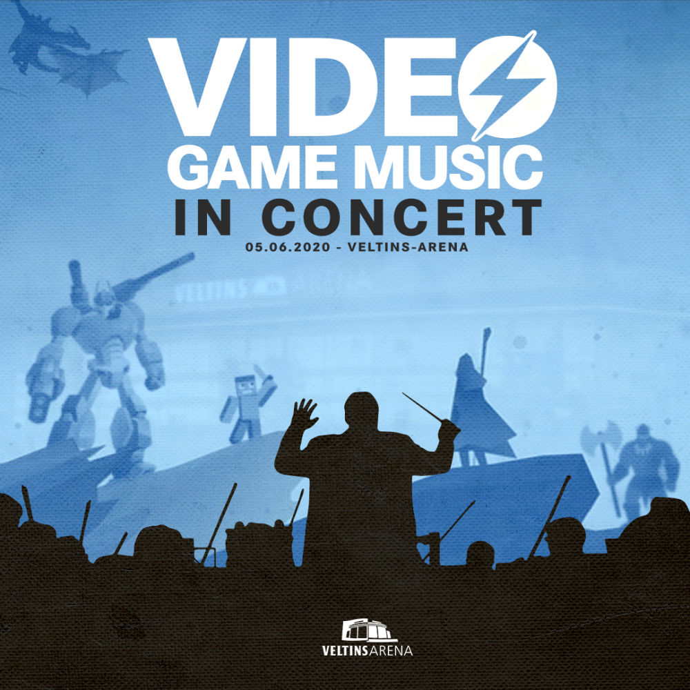 Video Game Music Quad 1920x10801080x1080