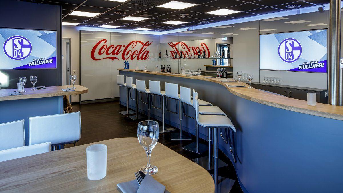 Coca Cola Sportsbar Header